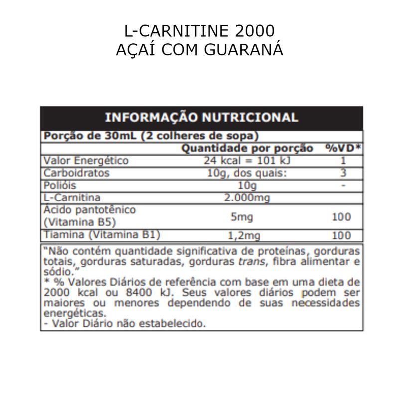 Tabela_L-CARNITINE-2000-ACAI-COM-GUARANA