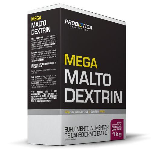 Mega Malto  Dextrin Caixa 1 Kg