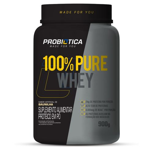 100% Pure Whey Pote 900G
