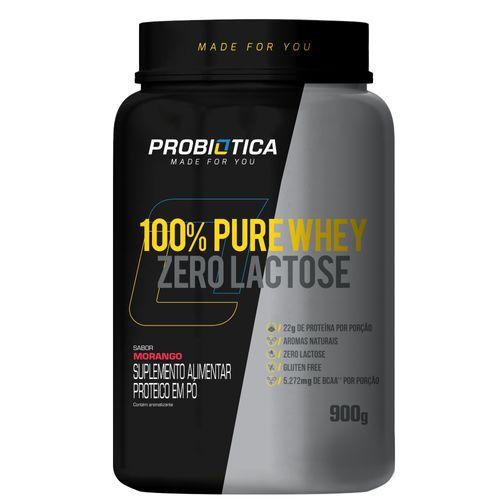 100% Pure Whey Zero Lactose  900 G